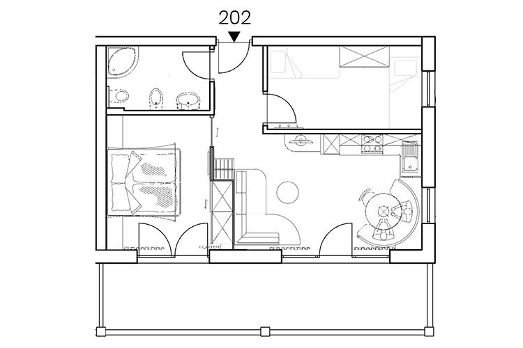 "Apartment ""EMOTION"" Nr. 202"