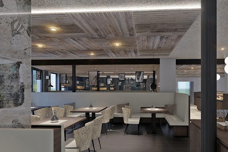 "Rendering – Restaurant ""The Taste"""