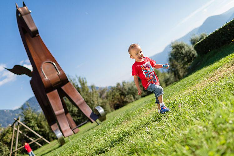 Playground in Dorf Tirol