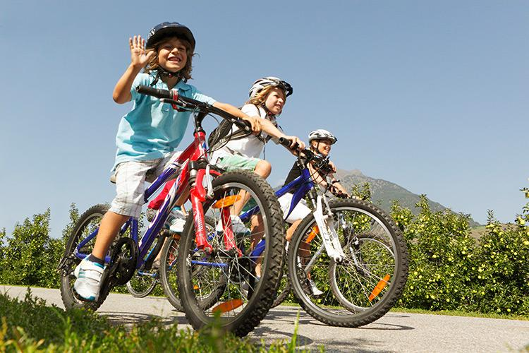 Family cycling tours in Merano & Dintorni