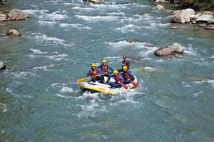 Rafting tours on the Adige and Passer rivers